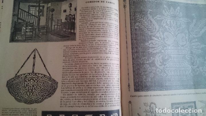 Coleccionismo de Revistas y Periódicos: LA MODA PRÁCTICA FÉMINA ILUSTRADA AÑO VII NUM 324 - 11 DE MARZO DE 1914 MADRID - Foto 5 - 63398964