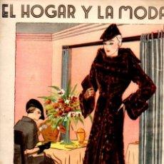 Coleccionismo de Revistas y Periódicos: EL HOGAR Y LA MODA 5 DIC. 1934. Lote 63622863
