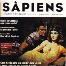 Coleccionismo de Revistas y Periódicos: REVISTA SAPIENS Nº 16 FEBRER 2004. Lote 63635575