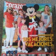 Coleccionismo de Revistas y Periódicos: REVISTA CORAZON TVE -- FAMILIA GOYANES -- Nº 63 --. Lote 63652231