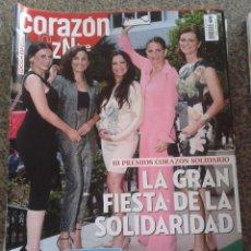 Coleccionismo de Revistas y Periódicos: REVISTA CORAZON TVE -- III PREMIOS CORAZON SOLIDARIO -- Nº 62 --. Lote 63652319