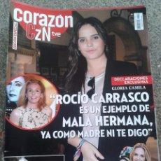 Coleccionismo de Revistas y Periódicos: REVISTA CORAZON TVE -- DECLARACIONES DE GLORIA CAMILA -- Nº 52 --. Lote 63653335