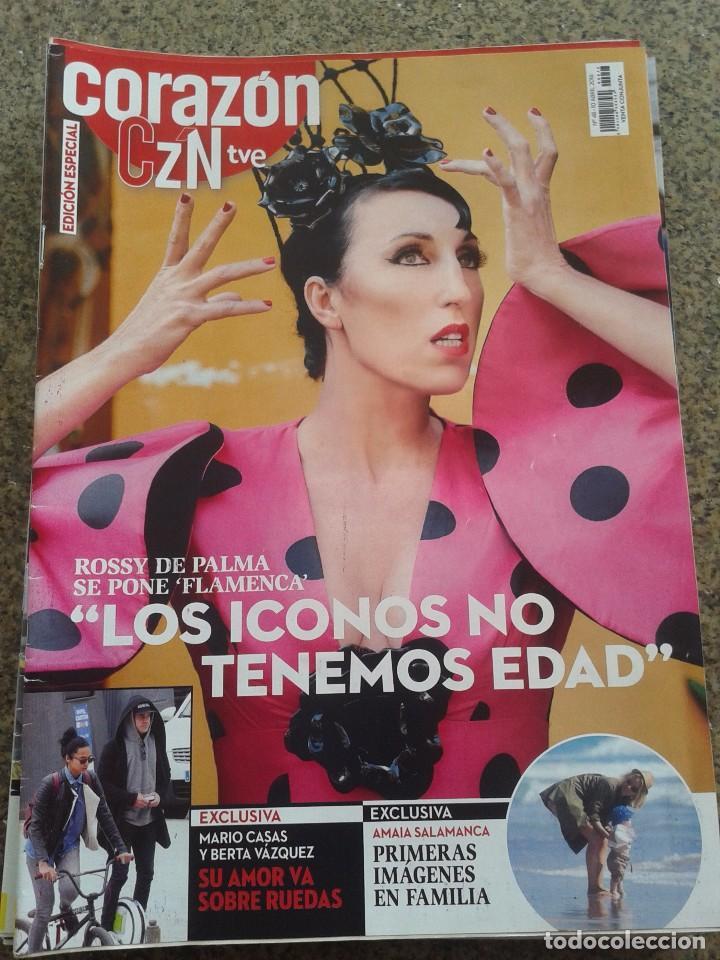 REVISTA CORAZON TVE -- ROSSY DE PALMA -- Nº 48 -- (Coleccionismo - Revistas y Periódicos Modernos (a partir de 1.940) - Otros)