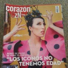 Coleccionismo de Revistas y Periódicos: REVISTA CORAZON TVE -- ROSSY DE PALMA -- Nº 48 --. Lote 63653727