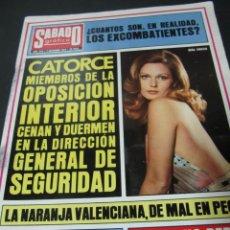 Collectionnisme de Revues et Journaux: REVISTA SABADO GRAFICO DICIEMBRE 1974 BURGOS VALENCIA. Lote 63672439