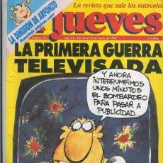 Coleccionismo de Revistas y Periódicos: EL JUEVES REVISTA NUMERO 0713. Lote 56225412