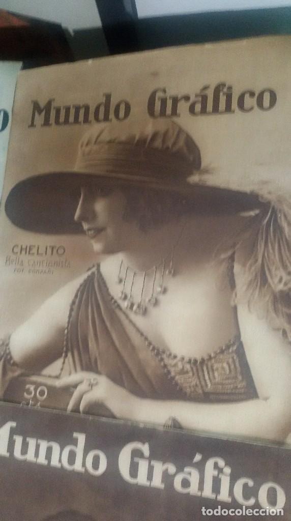 Coleccionismo de Revistas y Periódicos: LOTE DE 4 MUNDO GRÁFICO EN BUEN ESTADO ver fotos - Foto 3 - 63705735