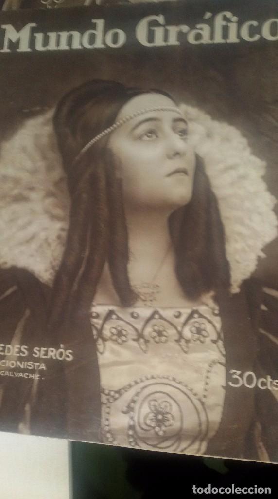 Coleccionismo de Revistas y Periódicos: LOTE DE 4 MUNDO GRÁFICO EN BUEN ESTADO ver fotos - Foto 4 - 63705735