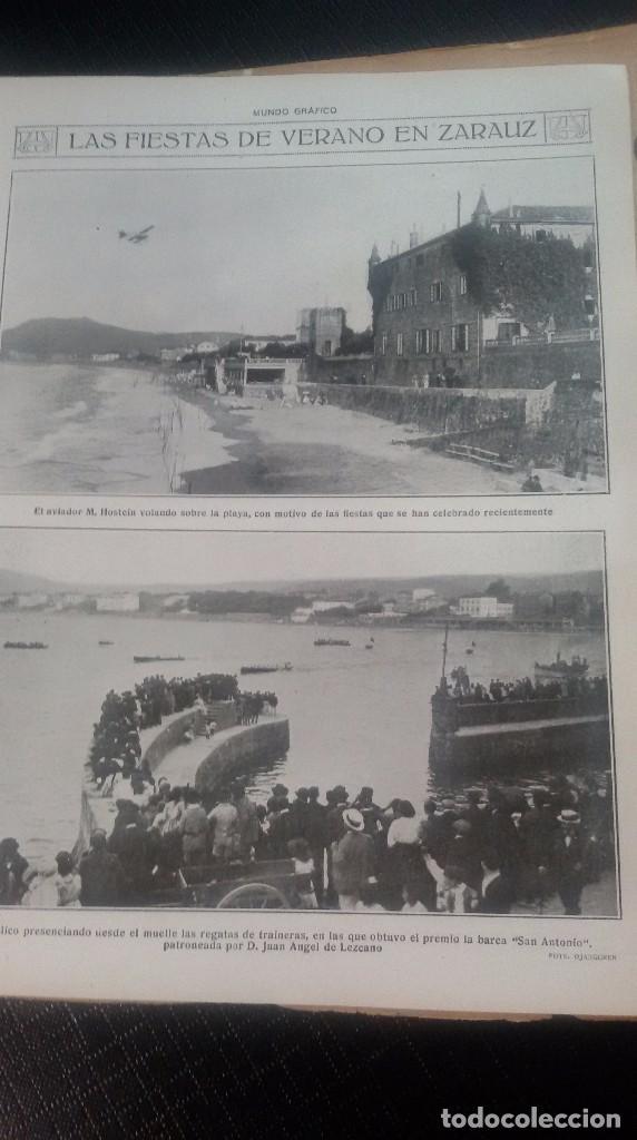 Coleccionismo de Revistas y Periódicos: LOTE DE 4 MUNDO GRÁFICO EN BUEN ESTADO ver fotos - Foto 20 - 63705735