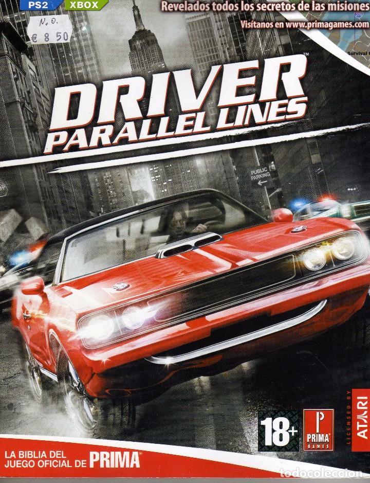 REVISTA DRIVER PARALLEL LINES, PRIMA GAMES PARA PS2 Y XBOX (Coleccionismo - Revistas y Periódicos Modernos (a partir de 1.940) - Otros)