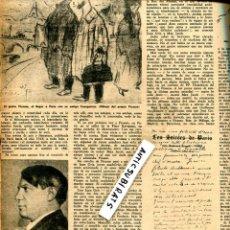 Coleccionismo de Revistas y Periódicos: REVISTA AÑO 1952 PICASSO SALVADOR DALI JOAN MIRO MAN RAY CARTA DE APOLLINAIRE A JOSE MARIA JUNOY. Lote 63785691