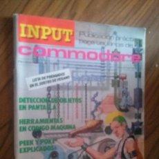 Coleccionismo de Revistas y Periódicos: INPUT COMMODORE 13. REVISTA DE INFORMÁTICA. GRAPA. VINTAGE. RARA. Lote 63826723