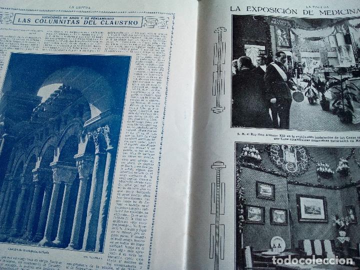 Coleccionismo de Revistas y Periódicos: LA ESFERA Nº278 AÑO 1919 CUADROS FRANCISCO DOMINGO-MONASTERIO EL PAULAR-IGLESIA S.SEBASTIAN MADRID - Foto 2 - 63890515