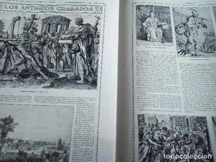 Coleccionismo de Revistas y Periódicos: LA ESFERA Nº278 AÑO 1919 CUADROS FRANCISCO DOMINGO-MONASTERIO EL PAULAR-IGLESIA S.SEBASTIAN MADRID - Foto 3 - 63890515
