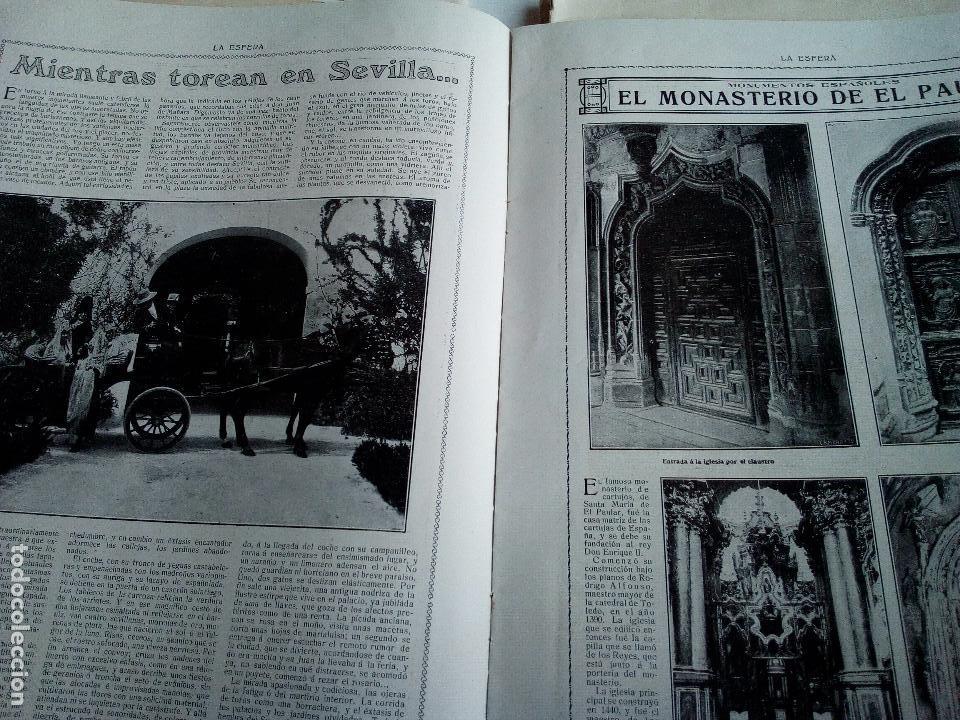 Coleccionismo de Revistas y Periódicos: LA ESFERA Nº278 AÑO 1919 CUADROS FRANCISCO DOMINGO-MONASTERIO EL PAULAR-IGLESIA S.SEBASTIAN MADRID - Foto 4 - 63890515