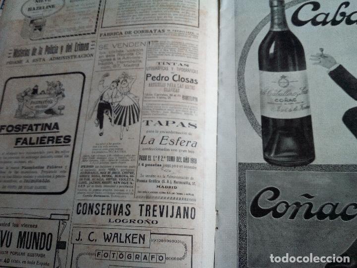 Coleccionismo de Revistas y Periódicos: LA ESFERA Nº275 AÑO 1919 MUSEO DE CADIZ-RELOJES ICONOGRAFICOS-CAPILLA VELEZ MURCIA-MISTINGUETT - Foto 2 - 63891199
