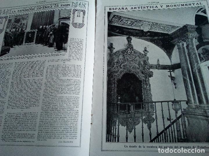 Coleccionismo de Revistas y Periódicos: LA ESFERA Nº275 AÑO 1919 MUSEO DE CADIZ-RELOJES ICONOGRAFICOS-CAPILLA VELEZ MURCIA-MISTINGUETT - Foto 3 - 63891199