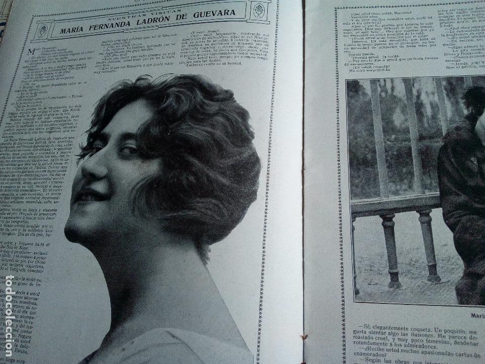 Coleccionismo de Revistas y Periódicos: LA ESFERA Nº275 AÑO 1919 MUSEO DE CADIZ-RELOJES ICONOGRAFICOS-CAPILLA VELEZ MURCIA-MISTINGUETT - Foto 4 - 63891199