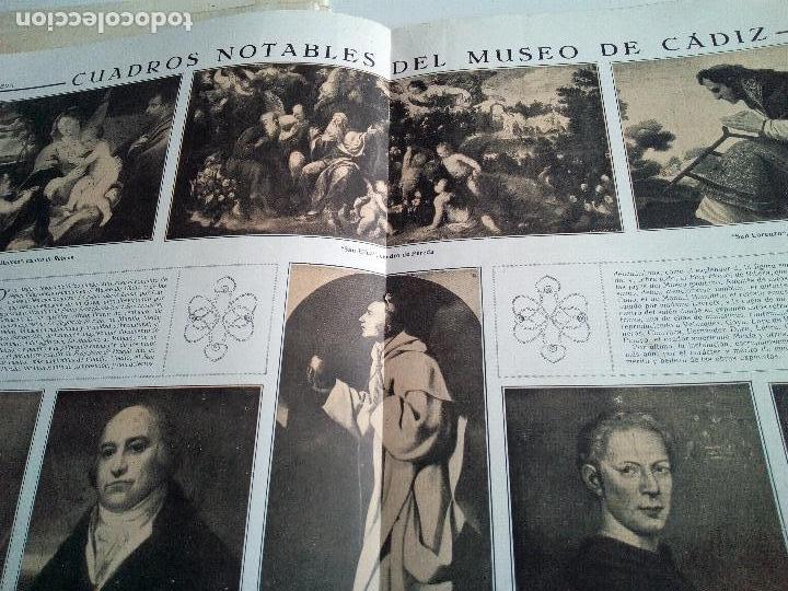 Coleccionismo de Revistas y Periódicos: LA ESFERA Nº275 AÑO 1919 MUSEO DE CADIZ-RELOJES ICONOGRAFICOS-CAPILLA VELEZ MURCIA-MISTINGUETT - Foto 6 - 63891199