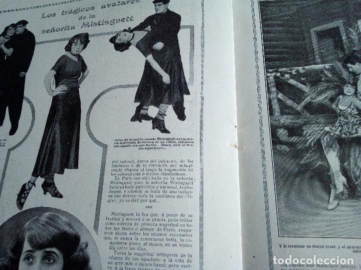 Coleccionismo de Revistas y Periódicos: LA ESFERA Nº275 AÑO 1919 MUSEO DE CADIZ-RELOJES ICONOGRAFICOS-CAPILLA VELEZ MURCIA-MISTINGUETT - Foto 8 - 63891199