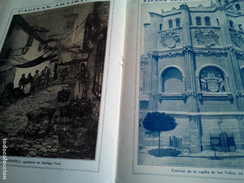 Coleccionismo de Revistas y Periódicos: LA ESFERA Nº275 AÑO 1919 MUSEO DE CADIZ-RELOJES ICONOGRAFICOS-CAPILLA VELEZ MURCIA-MISTINGUETT - Foto 9 - 63891199