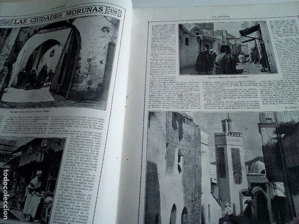 Coleccionismo de Revistas y Periódicos: LA ESFERA Nº275 AÑO 1919 MUSEO DE CADIZ-RELOJES ICONOGRAFICOS-CAPILLA VELEZ MURCIA-MISTINGUETT - Foto 10 - 63891199