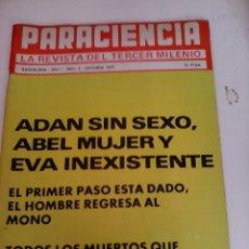 Coleccionismo de Revistas y Periódicos: PARACIENCIA. LA REVISTA DEL TERCER MILENIO. N' 4 OCTUBRE 1977. Lote 63897759