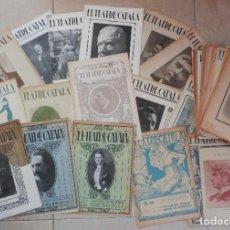 Coleccionismo de Revistas y Periódicos: GRAN LOTE 53 EJEMPLARES DEL SEMANARIO EL TEATRE CATALÀ - PPS SXX. Lote 63898659