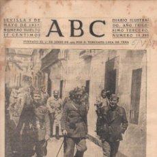 Coleccionismo de Revistas y Periódicos: DIARIO ABC SEVILLA GUERRA CIVIL MES DE MAYO 1937 - 26 EJEMPLARES. Lote 63900715