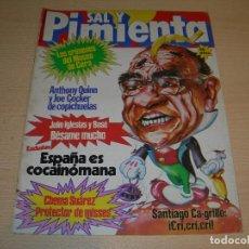 Coleccionismo de Revistas y Periódicos: REVISTA SAL Y PIMIENTA Nº114 DICIEMBRE 1981 ENVIO GRATUITO. Lote 64119775