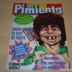 Coleccionismo de Revistas y Periódicos: REVISTA SAL Y PIMIENTA Nº134 ABRIL 1982 ENVIO GRATUITO. Lote 64120035
