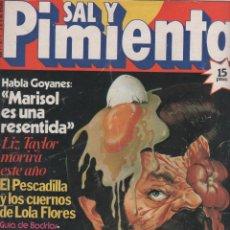Coleccionismo de Revistas y Periódicos: SAL Y PIMIENTA. Lote 64148651