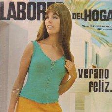 Coleccionismo de Revistas y Periódicos: LABORES DEL HOGAR - Nº 146 - JULIO 1970. Lote 64160815
