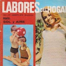 Coleccionismo de Revistas y Periódicos: LABORES DEL HOGAR - Nº 147 - AGOSTO 1970. Lote 64161371