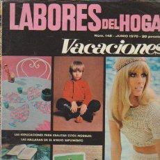 Coleccionismo de Revistas y Periódicos: LABORES DEL HOGAR - Nº 145 - JUNIO 1970. Lote 64161615