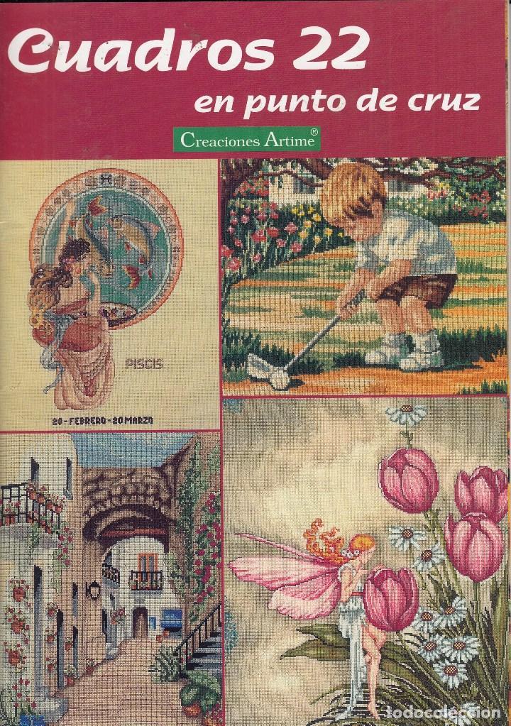 Revista cuadros en punto de cruz n 22 creacci comprar for Cuadros cocina punto de cruz