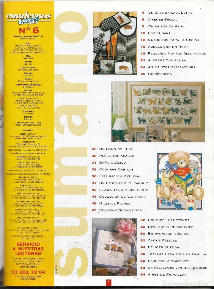 revista las labores de ana nº 6. incluye patron - Comprar Otras ...