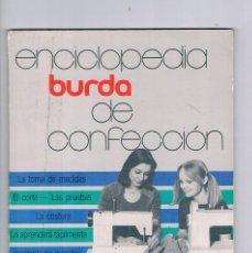 Coleccionismo de Revistas y Periódicos: ENCICLOPEDIA BURDA CONFECCION 3 1978 ANTIGUO. Lote 118519158