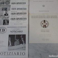 Coleccionismo de Revistas y Periódicos: ORGANIZACIÓN MUNDIAL DE LA PRENSA DIPLOMÁTICA - PALMA DE MALLORCA -Nº 1,2,3,4 + DOCUMENTACIÓN - 1969. Lote 64472471