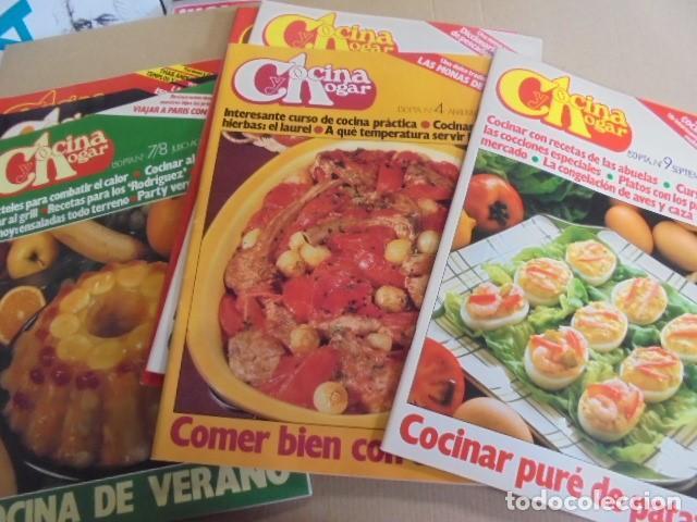 Revistas Cocina   Super Lote 7 Revistas Cocina Y Hogar Sin Usar Comprar Otras