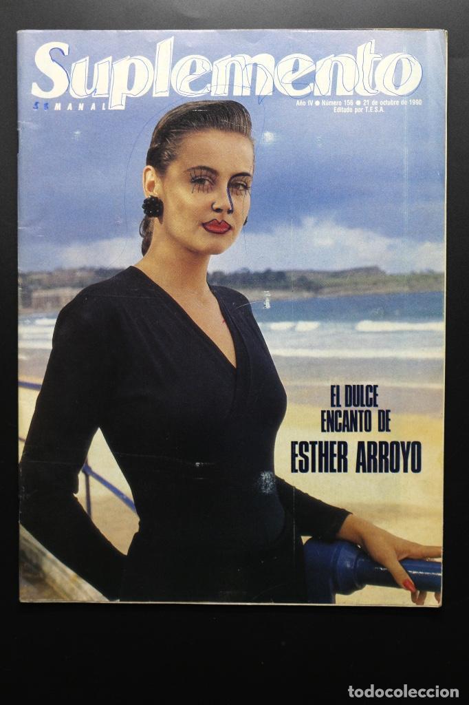REVISTA SUPLEMENTO SEMANAL Nº 156 - 21 OCT. 1990. ROSSY DE PALMA, NICK NOLTE Y EDDIE MURPHY... (Coleccionismo - Revistas y Periódicos Modernos (a partir de 1.940) - Otros)