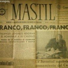 Coleccionismo de Revistas y Periódicos: PERIÓDICO,MASTILL N°4, DIARIO.. Lote 64618402