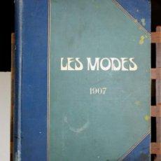 Coleccionismo de Revistas y Periódicos: 8142 - REVISTA MENSUAL LES MODES. (VER DESCRIPCIÓN). IMPR. M. MANZI. 1907.. Lote 64681523