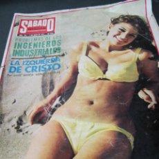 Coleccionismo de Revistas y Periódicos: REVISTA SABADO GRAFICO JUNIO 1972 ENTREVISTA ANTONIO GALA. Lote 64802623