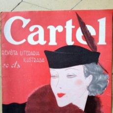 Coleccionismo de Revistas y Periódicos: CARTEL REVISTA LITERARIA ILUSTRADA 1935 AÑO 1 Nº 3. Lote 64854115