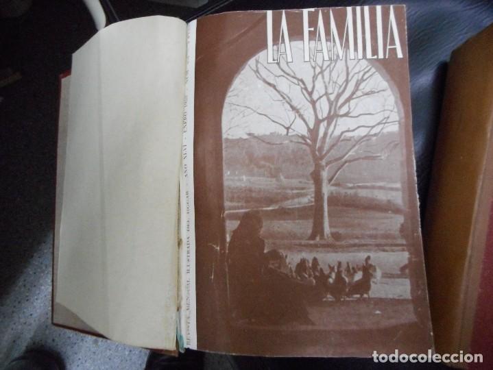 Coleccionismo de Revistas y Periódicos: 2 tomos 4 años completos 1953,1954,1955,1956 revista mensual ilustrada del hogar la familia - Foto 2 - 65944334