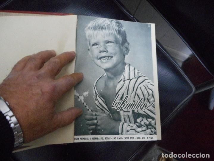 Coleccionismo de Revistas y Periódicos: 2 tomos 4 años completos 1953,1954,1955,1956 revista mensual ilustrada del hogar la familia - Foto 3 - 65944334