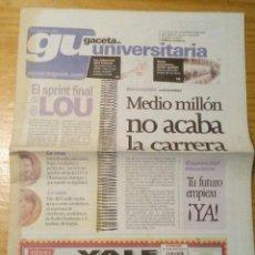 Coleccionismo de Revistas y Periódicos: GACETA UNIVERSITARIA - Nº386 - DICIEMBRE 2001. Lote 65964298