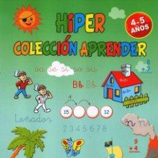 Coleccionismo de Revistas y Periódicos: HIPER COLECCION APRENDER N. 28 - CALCULA, ESCRIBE Y COLOREA - 4/5 AÑOS (NUEVA). Lote 167143817