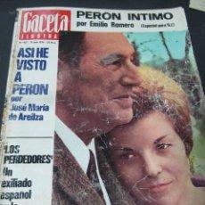Coleccionismo de Revistas y Periódicos: REVISTA GACETA ILUSTRADA DICIEMBRE 1974 . Lote 65981426
